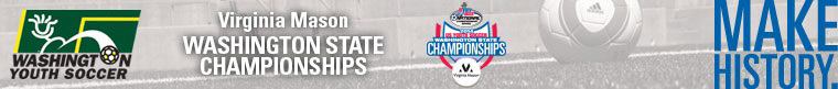 2014 Virginia Mason US Youth Soccer Washington State Championships banner